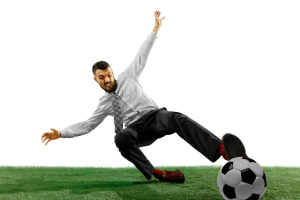 businessman sport